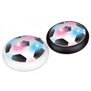 Kids Air Power Soccer Disc, Training Football with Foam Bumpers and LED Lights, Hover Disk Ball for Indoor and Outdoor
