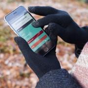 Iggi Touchscreen handschoenen zwart