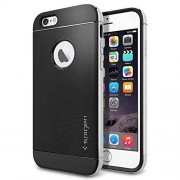 SPIGEN Etui Neo Hybrid Metal do iPhone 6 Satynowo-Srebrny