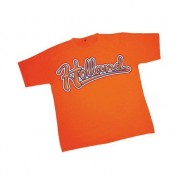 Geen Holland tekst t-shirt oranje