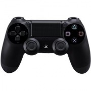 SONY PLAYSTATION DUALSHOCK 4 WIRELESS CONTROLLER BLACK