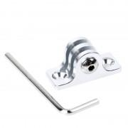 Maxy $$ Supporto Tmc Go Universale Per Action Cam Alluminio Silver Per Modelli A Marchio Gopro