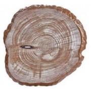 Platou servire melamin RAKI 30x33x2cm cu imitatie lemn