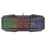 Геймърска клавиатура TRUST GXT 830-RW Avonn Gaming Keyboard, Черна, 21621