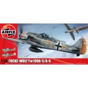 KIT CONSTRUCTIE AIRFIX AVION FOCKE WULF FW-190A-5/A-6 (16001A)