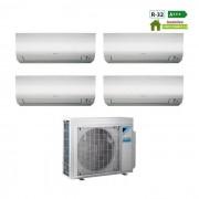 Daikin Condizionatore Daikin Quadri Split Inverter 7+7+7+7 7000+7000+7000+7000 Btu A+++ R32 Serie Ftx M 4mxm68m