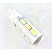 Ampoule veilleuse T10 LED 3D 14 Lentille - Culot W5W - Blanc Xenon