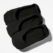 Timberland Trois Paires De Socquettes Pour Homme En Noir Noir, Taille L