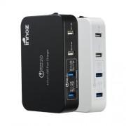 Innoz QC-4 Quick-Charge 4-Port USB töltőállomás 10.2A fekete