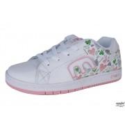 rövidszárú cipő gyermek - ETNIES - Kids Callicut - Pink
