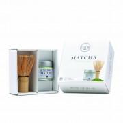 Teatox Vegan Thee Starter Set - Matcha en Bamboo Brush