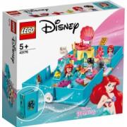 LEGO Disney Princess Aventuri din cartea de povesti cu Ariel 43176
