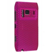 Nokia N8 Mesh Back in-Case - Nokia Hard Case (Hot Pink)