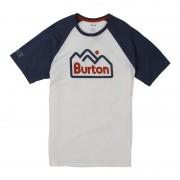Burton Men's Burton Mountain Jack Short Sleeve T-Shirt Vit