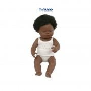 Papusa fetita africana 38 cm
