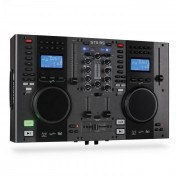 Skytec STX-95 DJ kontroller 2 MP3 lejátszóval, USB bemenet (Sky-172.806)