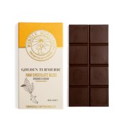 Raw chocolate bliss bar - golden turmeric