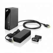 Lenovo ThinkPad OneLink Pro Dock - Black - (6x USB, DVI, DisplayPort, RJ45, adapter)