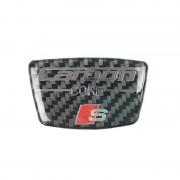 Airspeed S Lijn Koolstofvezel Auto Stickers Deur B Kolom Decoratie Sticker voor Audi A3 A4 B6 B7 B8 B5 A6 C5 C6 Q5 Q7 Auto Styling