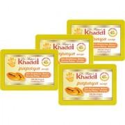 Khadi Anti Scar Papaya Glycerin Soap (Premium Brand) By Dr. Thapar Buy 3 Get 4 (125 Grams Each )