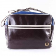 Fred Perry Classic Shoulder Messanger Brun