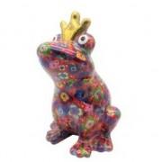 Pomme Pidou Spaarpot kikker met kroontje fuchsia 22 cm- Action products