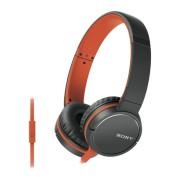 Наушники Sony MDR-ZX660AP, оранжевый