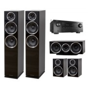 Pachete PROMO SURROUND - Wharfedale - Diamond 230 pachet 5.0 + Denon AVR-X2500H Walnut