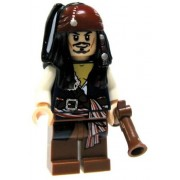 LEGO Pirates of the Caribbean Loose Captain Jack Sparrow Minifigure [Flintlock Pistol Loose]