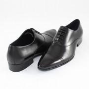 Pantofi eleganti, piele naturala barbati - negru, Alberto Clarini - 130820-R05A-Black