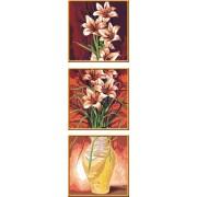 Раскрашивание по номерам «Цветы»