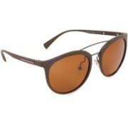 marc louis Aviator Sunglasses(Brown)