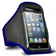 iPhone 5 5S 5C Sports Armband Case Cover - Blue