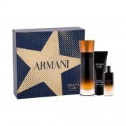 Giorgio Armani Code Profumo darčeková kazeta pre mužov parfumovaná voda 110 ml + parfumovaná voda 15 ml + sprchovací gél 75 ml