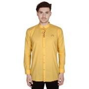Yo Republic Mens yellow Color shirt