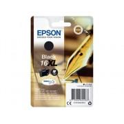 Epson Cartucho de tinta original EPSON 16XL, Bolígrafo y crucigrama 12,9 ml , Negro, C13T16314012, T1631