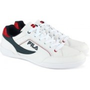 Fila BAKER II Canvas Shoes For Men(White)