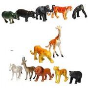 Skky bell Animal land wild animal set of 10