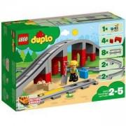 Конструктор ЛЕГО ДУПЛО - Мост и релси за влак, LEGO DUPLO, 10872