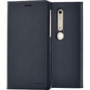 Nokia 6.1 Slim Flip case blauw