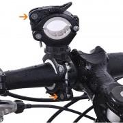 Meco BIKIGHT 360° Angle Rotation Bike Flashlight Mount Holder Clip Multifunction Light Stand Fixing Stand