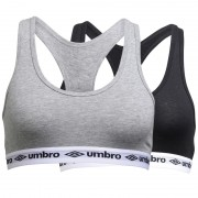 Umbro Tops Black/Grey Marl