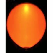 Svítící nafukovací balónek - oranžový