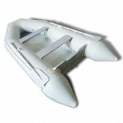 vidaXL Гумена лодка с алуминиеви гребла