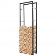 vidaXL Rastel dreptunghiular pentru lemne de foc, 150 cm