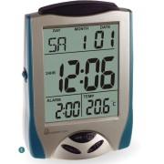 Budzik MPM C02.2754.8140 z termometrem