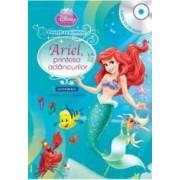 Disney - Ariel Printesa Adancurilor Carte + Cd Audio. Lectura Stela Popescu