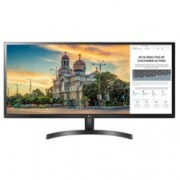 "Монитор LG 34WK500-P, 34"" (86.36 cm) IPS панел, UltraWide Full HD, 5 ms, 250cd/m2, HDMI"