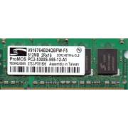 Memorie 512MB DDR2 u916764b24qbfw-f5