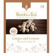 Ceai Negru cu Ghimbir si Lamaie Arthemia Bio (20 plicuri/cutie)